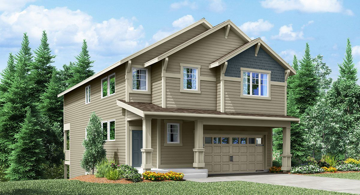 Exterior featured in the Columbia By Lennar in Seattle-Bellevue, WA