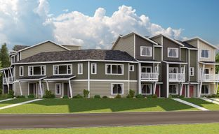 Emerald Pointe Townhomes by Lennar in Tacoma Washington