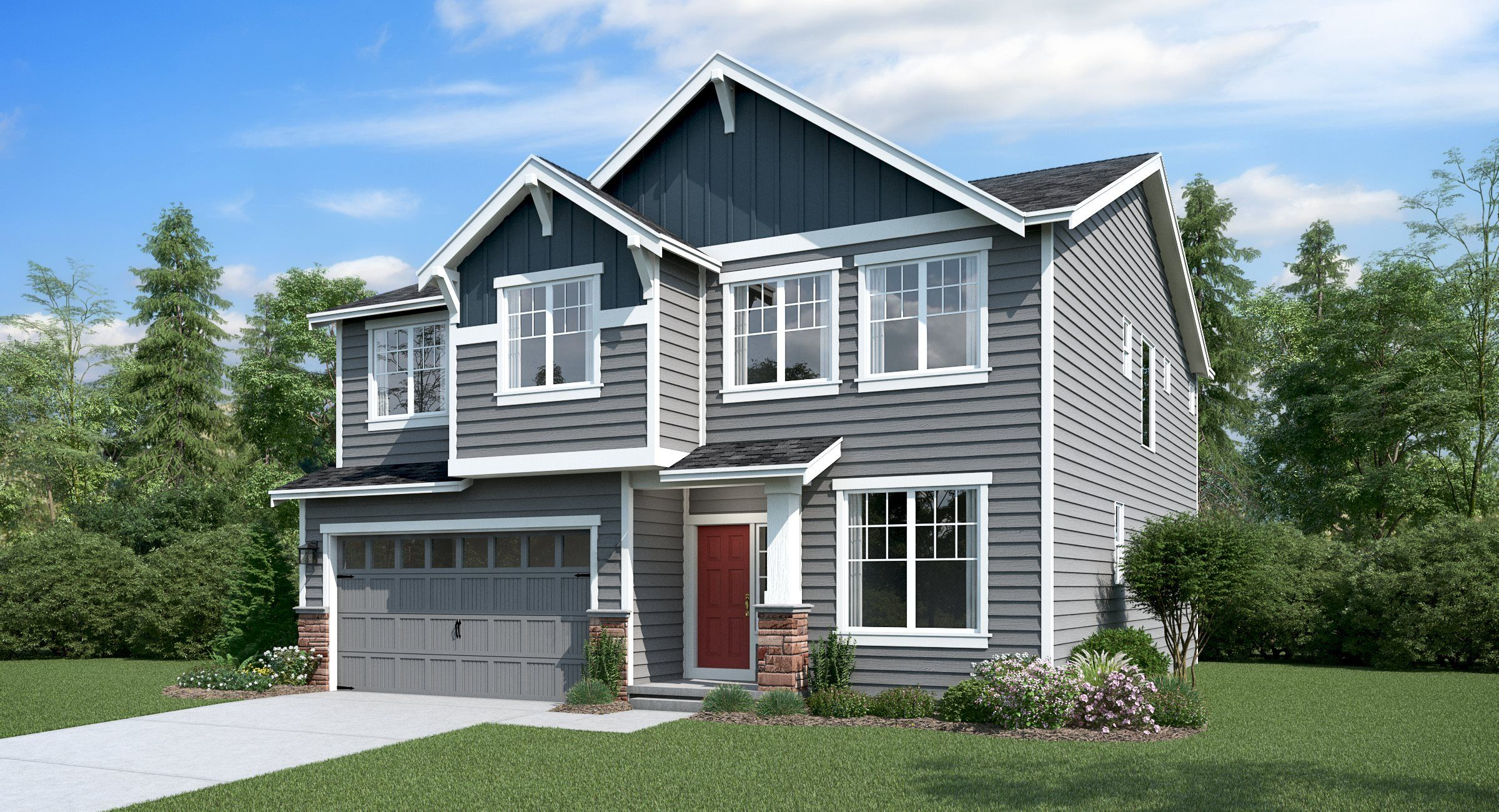 Exterior featured in the Davenport By Lennar in Tacoma, WA