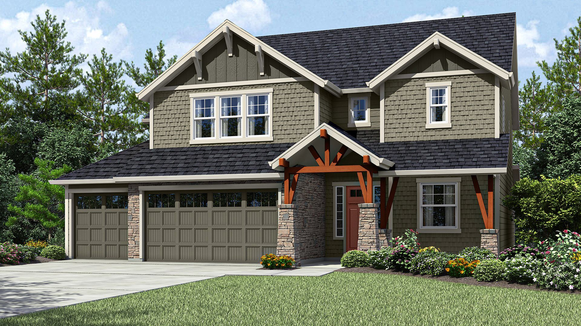 Exterior featured in the Rochester By Lennar in Portland-Vancouver, OR