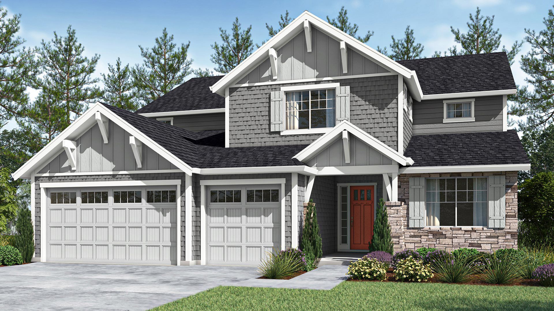 Exterior featured in the Windsor By Lennar in Portland-Vancouver, OR