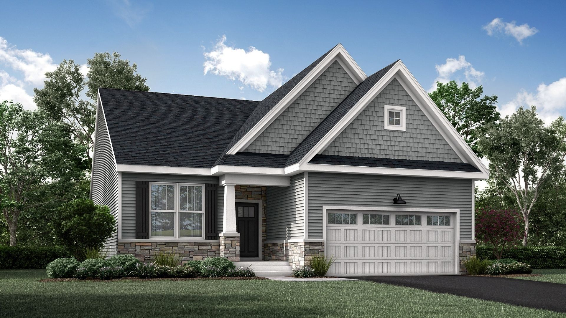 Exterior featured in the Sonoma By Lennar in Philadelphia, PA