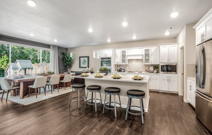 Kitchen featured in the Meridian 3-Car By Lennar in Tacoma, WA