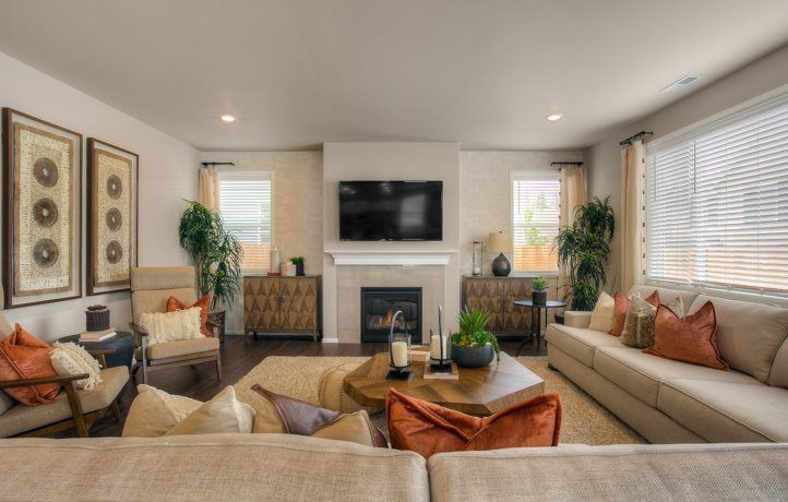 Living Area featured in the Bainbridge 4-Car By Lennar in Tacoma, WA