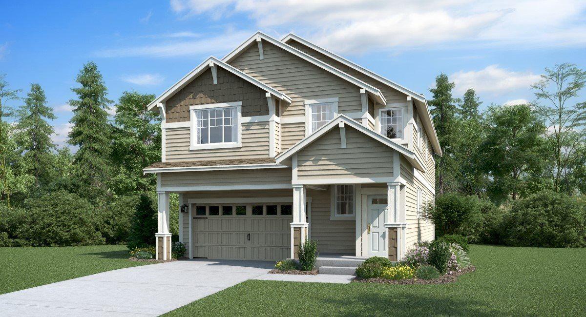 'Oberon' by Lennar - Seattle Homebuilding in Seattle-Bellevue