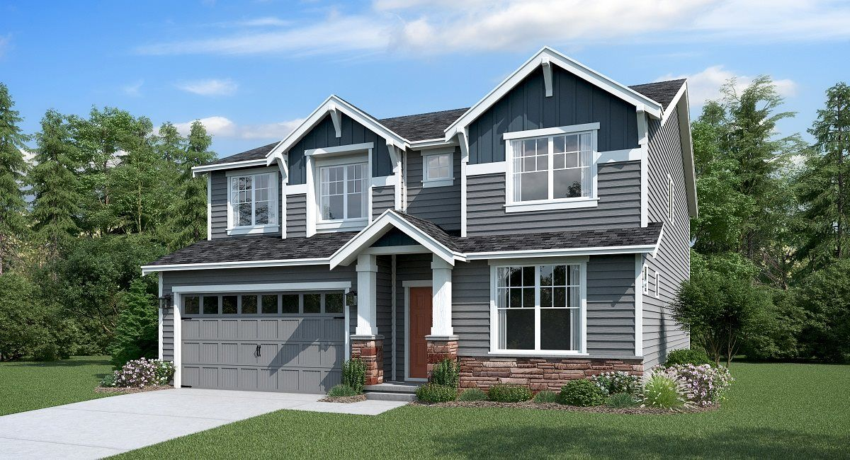 Exterior featured in the Meridian By Lennar in Seattle-Bellevue, WA