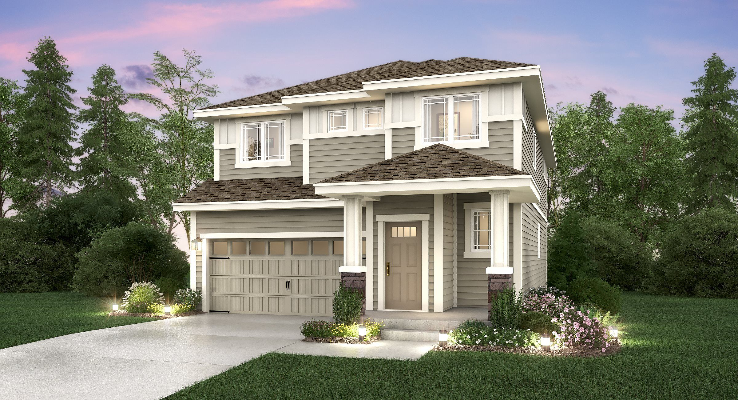 Exterior featured in the Ballinger II By Lennar in Seattle-Bellevue, WA