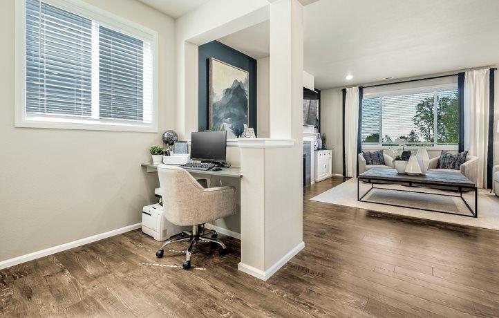 Living Area featured in the Ballinger II By Lennar in Seattle-Bellevue, WA
