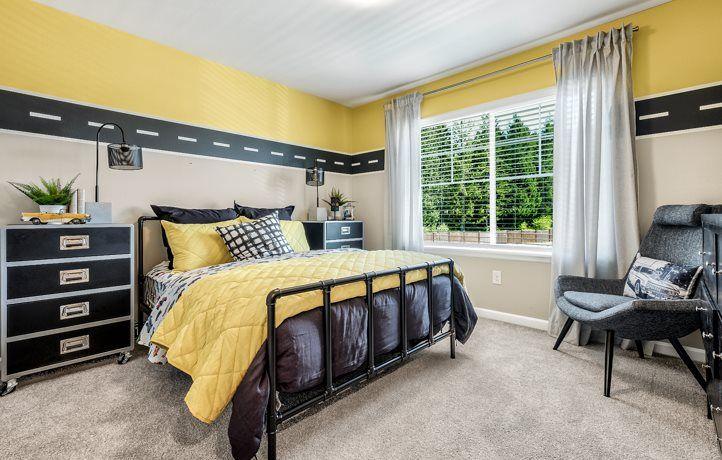 Bedroom featured in the Meridian By Lennar in Seattle-Bellevue, WA
