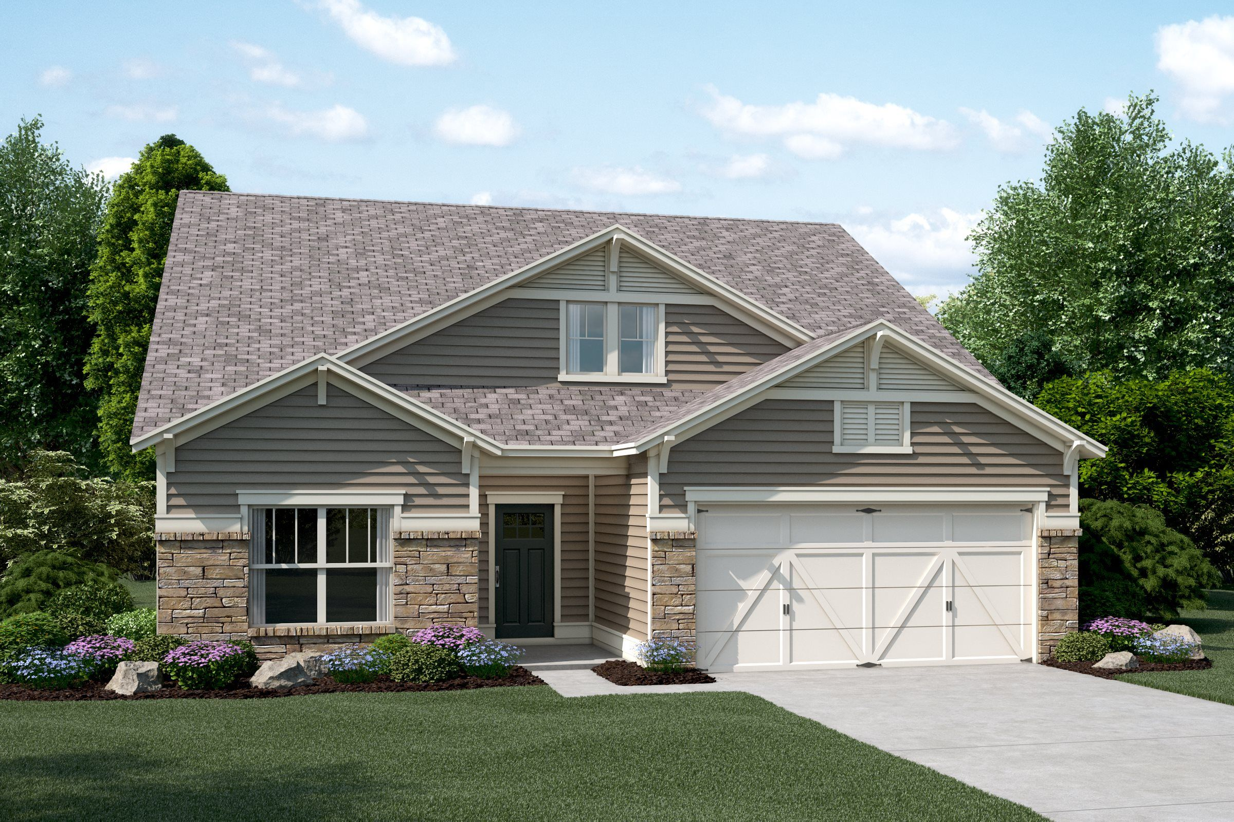 Exterior featured in the Briarwood By Lennar in Atlanta, GA