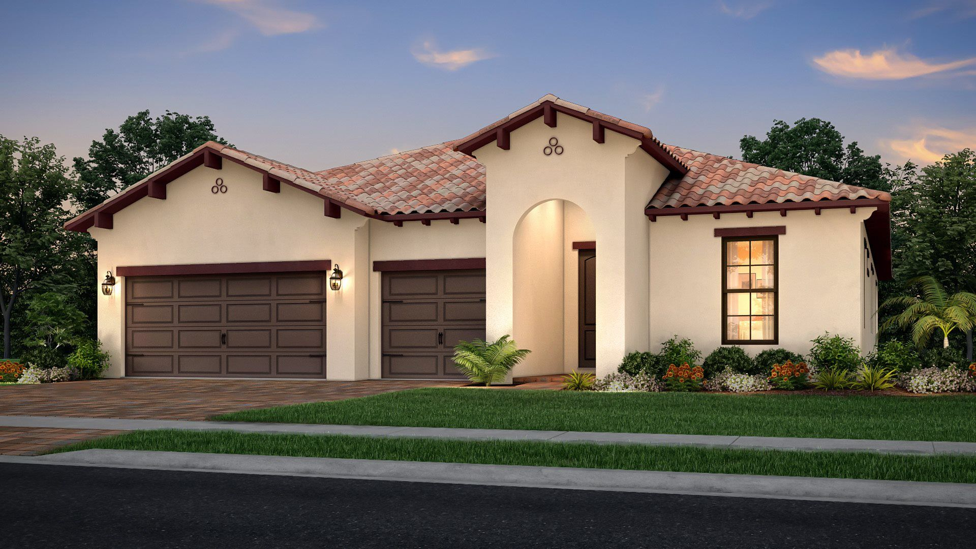 Exterior featured in the Cocoplum By Lennar in Palm Beach County, FL