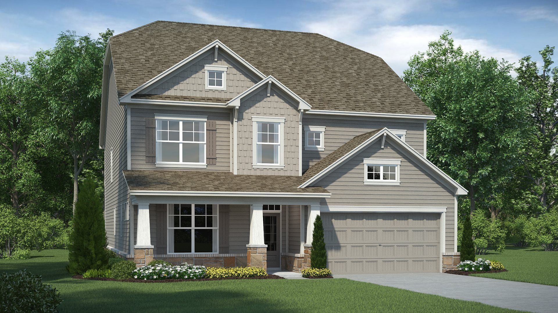 Exterior featured in the MADISON By Lennar in Atlanta, GA