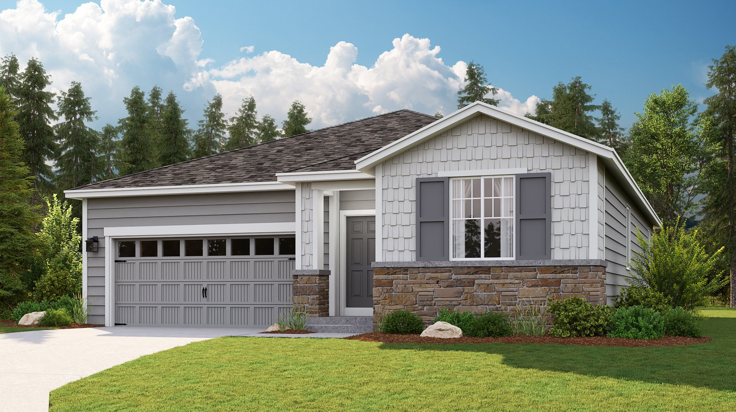 Exterior featured in the Hamilton By Lennar in Tacoma, WA