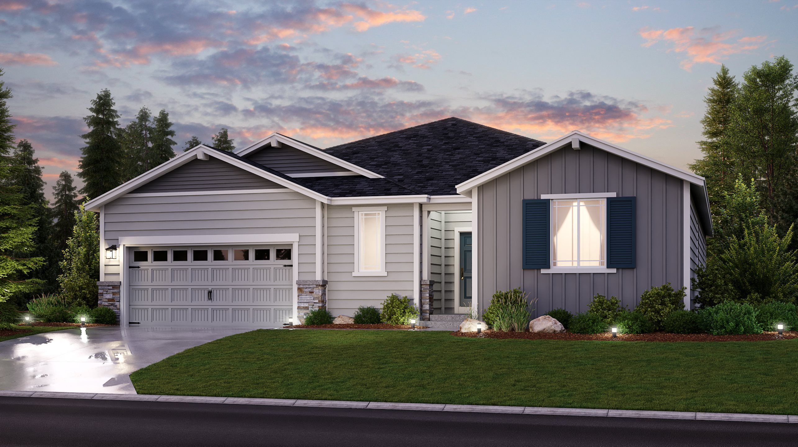 Exterior featured in the Benton By Lennar in Tacoma, WA