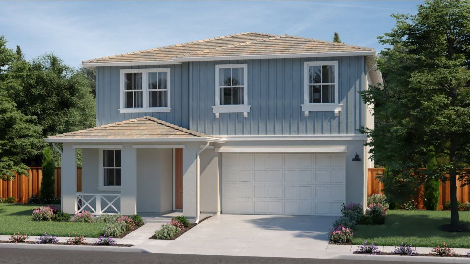 Exterior featured in the RESIDENCE FOUR By Lennar in Vallejo-Napa, CA
