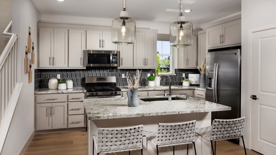 Kitchen featured in the Residence Two By Lennar in Stockton-Lodi, CA