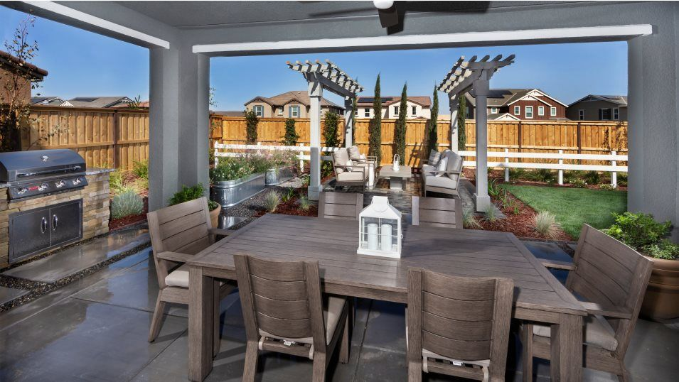 Exterior featured in the RESIDENCE THREE By Lennar in Stockton-Lodi, CA