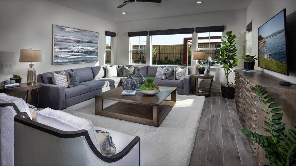 Living Area featured in the Residence One By Lennar in Stockton-Lodi, CA