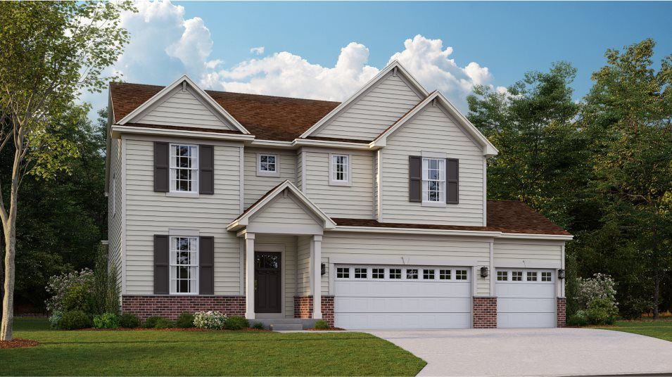 Exterior featured in the Santa Rosa By Lennar in Chicago, IL
