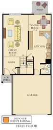 Dunham II ei - Greywall Club - Townhomes: Joliet, Illinois - Lennar