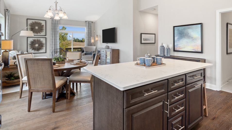 Kitchen featured in the Napa By Lennar in Chicago, IL