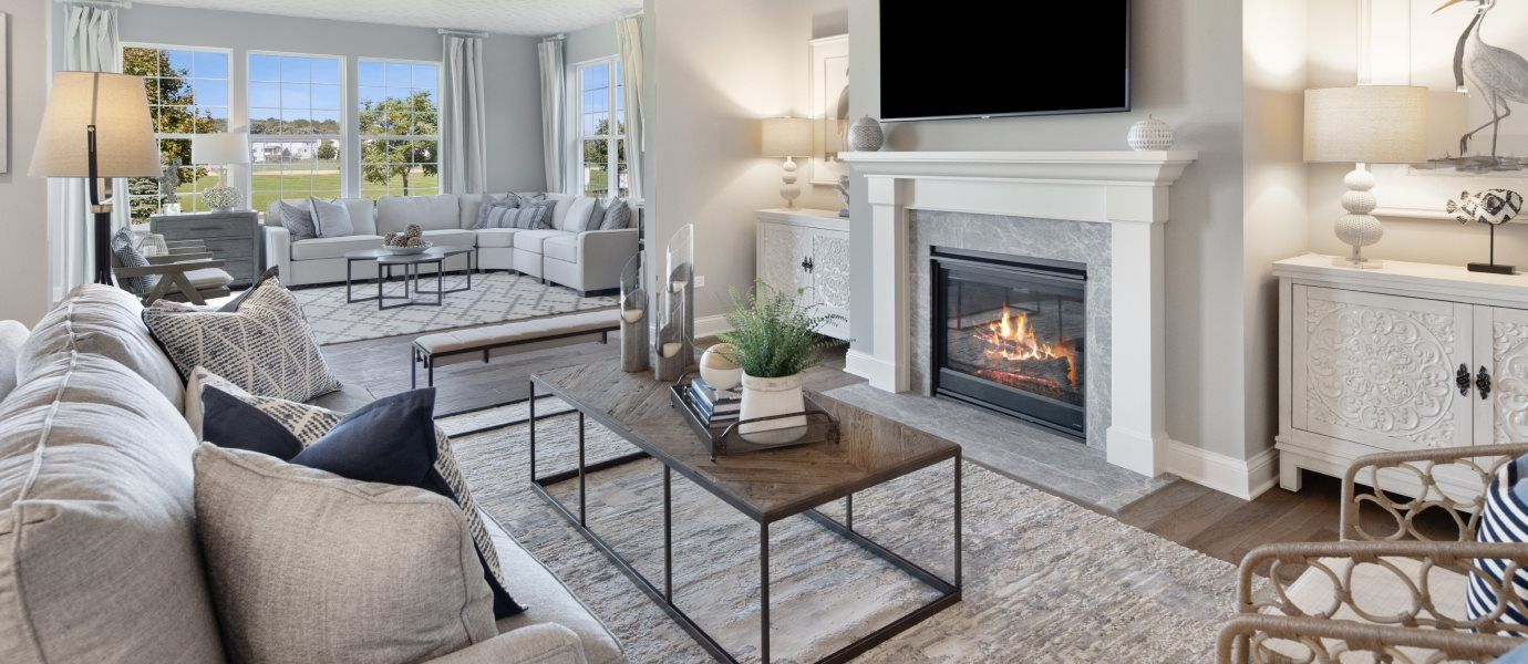 Living Area featured in the Ridgefield By Lennar in Chicago, IL