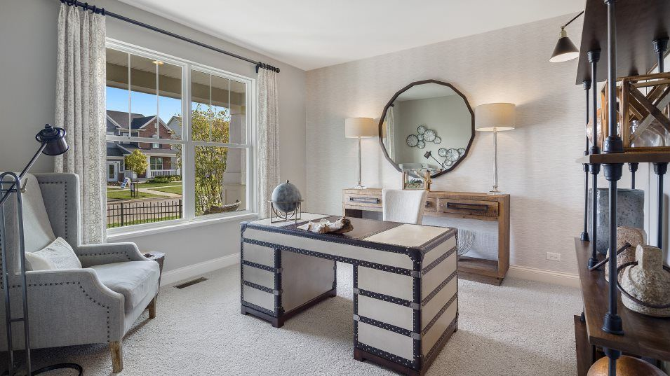 Living Area featured in the Rainier By Lennar in Chicago, IL