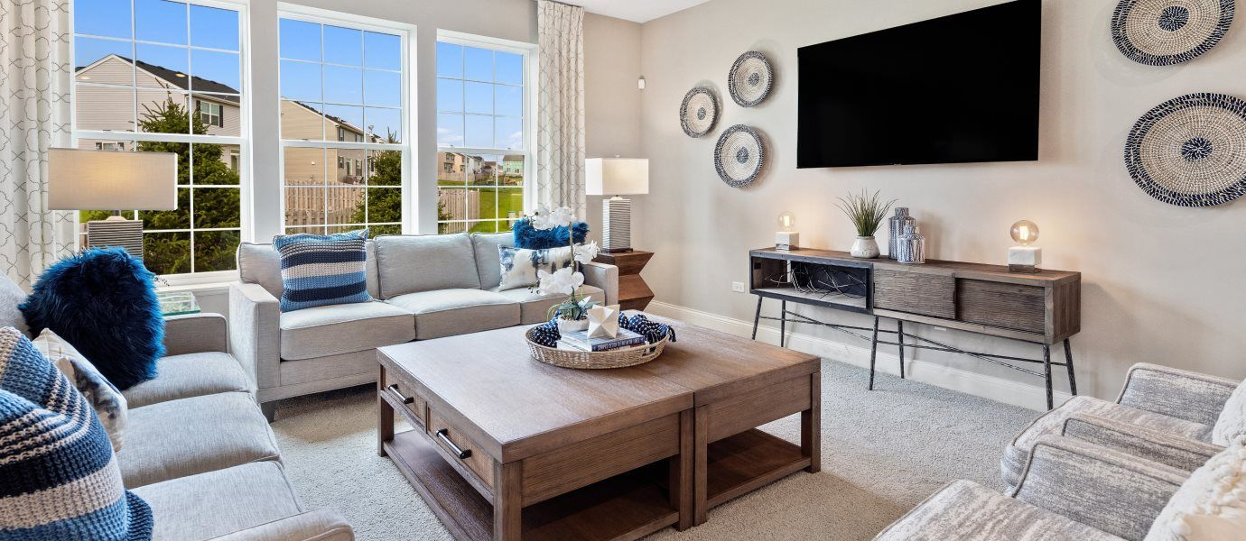Living Area featured in the Raleigh By Lennar in Chicago, IL