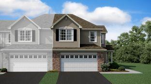 Linden II ei - Raintree Village - Townhomes: Yorkville, Illinois - Lennar
