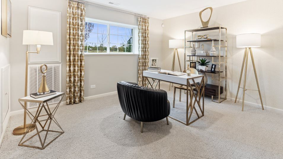 Living Area featured in the Chatham By Lennar in Chicago, IL