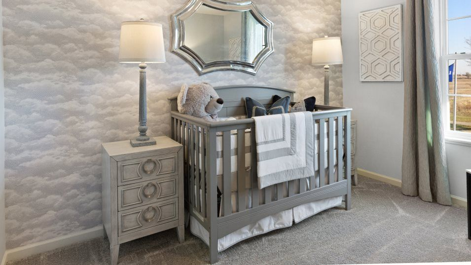 Bedroom featured in the Brooklyn By Lennar in Gary, IN