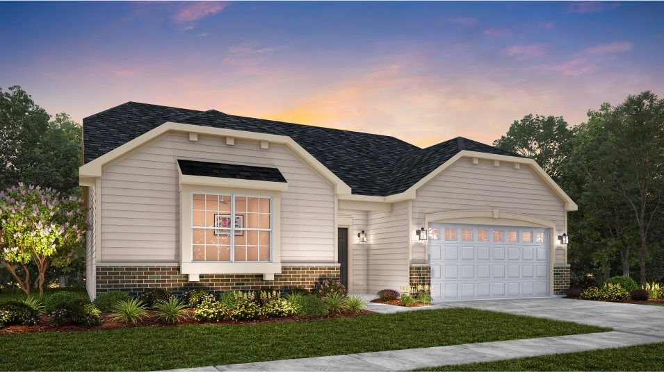 Exterior featured in the Siena By Lennar in Gary, IN