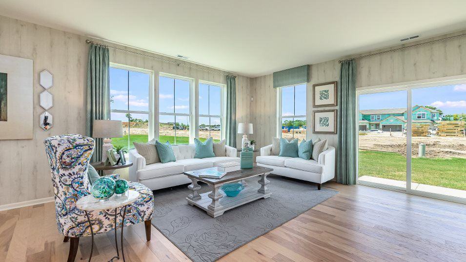 Living Area featured in the Dunbar By Lennar in Gary, IN