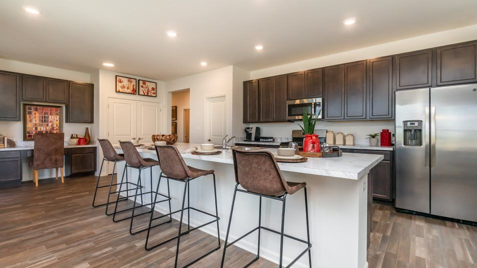 Kitchen featured in the Balsam By Lennar in Gary, IN