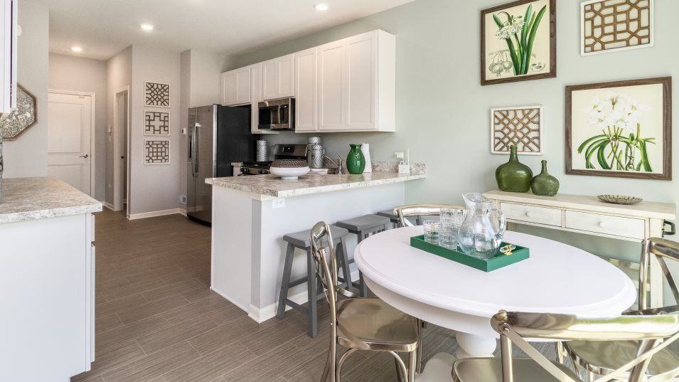 Kitchen featured in the Dundee By Lennar in Gary, IN