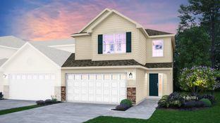 Courtney - Rose Garden Estates - Townhomes: Cedar Lake, Illinois - Lennar