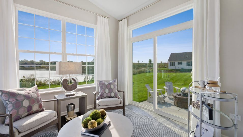 Living Area featured in the Siena By Lennar in Gary, IN