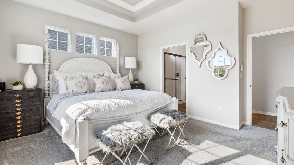 Bedroom featured in the Siena By Lennar in Gary, IN