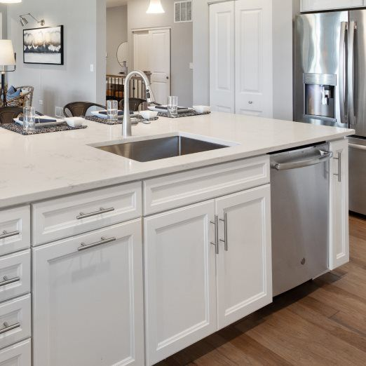 Kitchen featured in the Ridgefield By Lennar in Gary, IN