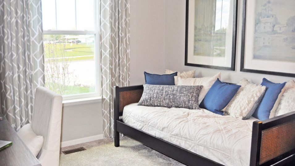 Bedroom featured in the Bronte By Lennar in Gary, IN