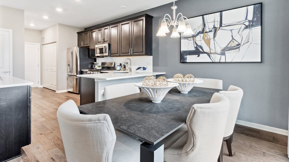 Kitchen featured in the Courtney II By Lennar in Gary, IN