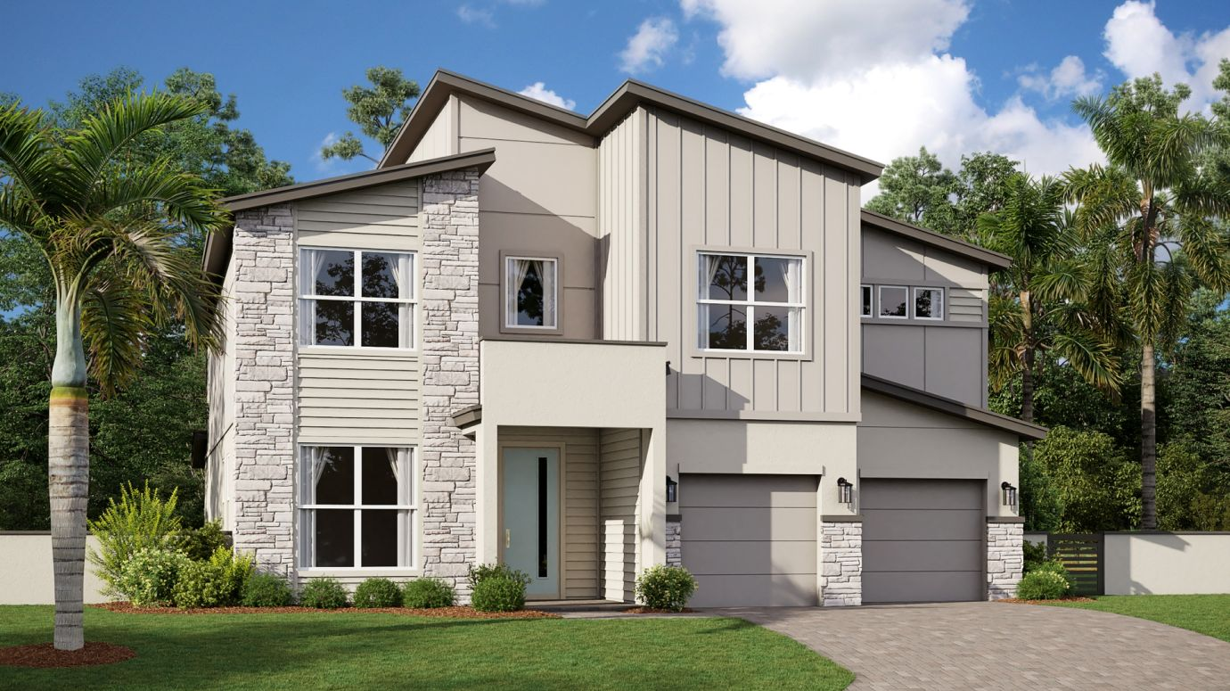 Exterior featured in the Antigua By Lennar in Melbourne, FL