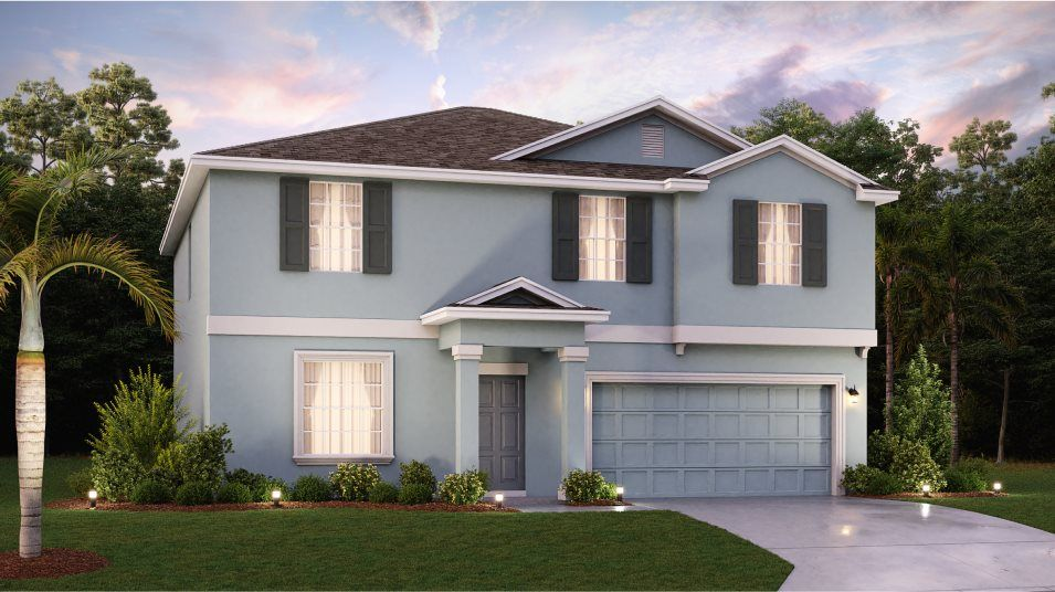 Exterior featured in the Providence By Lennar in Orlando, FL