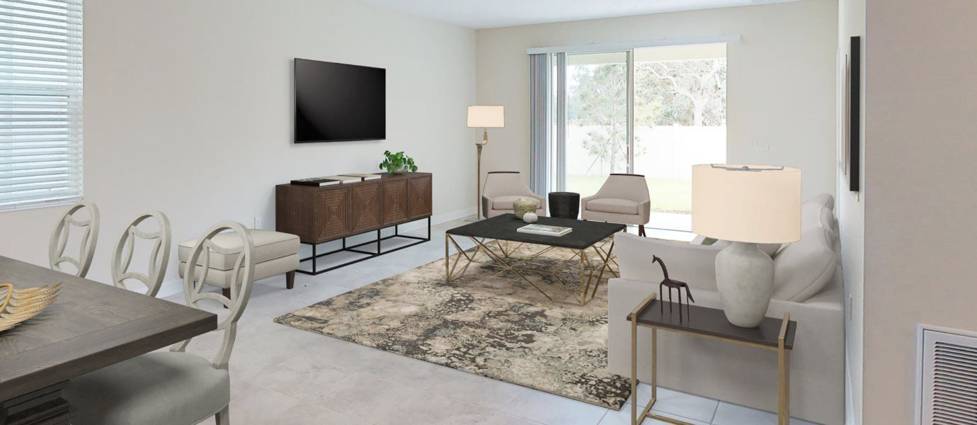 Living Area featured in the Bourne By Lennar in Orlando, FL
