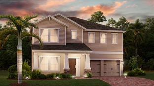 Orleans II - Hanover Lakes - Cottage Collection: Saint Cloud, Florida - Lennar