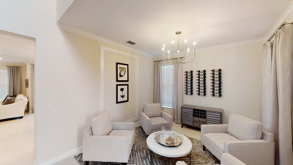 Living Area featured in the Pietra By Lennar in Palm Beach County, FL