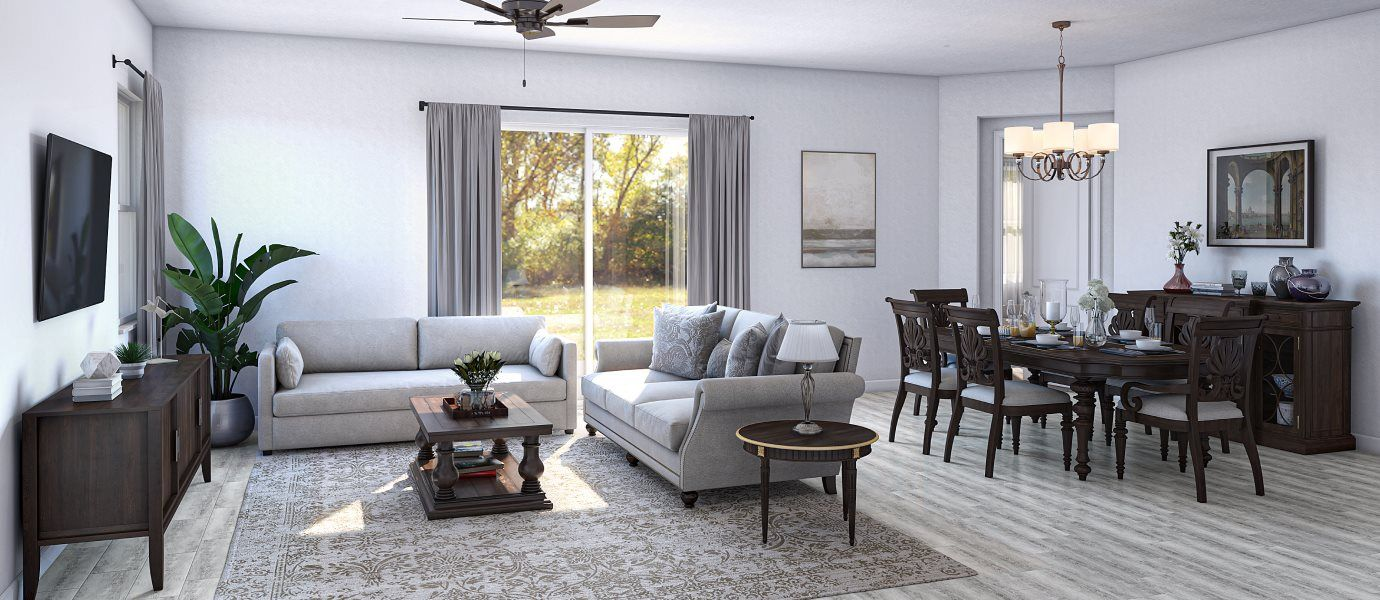 Living Area featured in the Bimini By Lennar in Martin-St. Lucie-Okeechobee Counties, FL