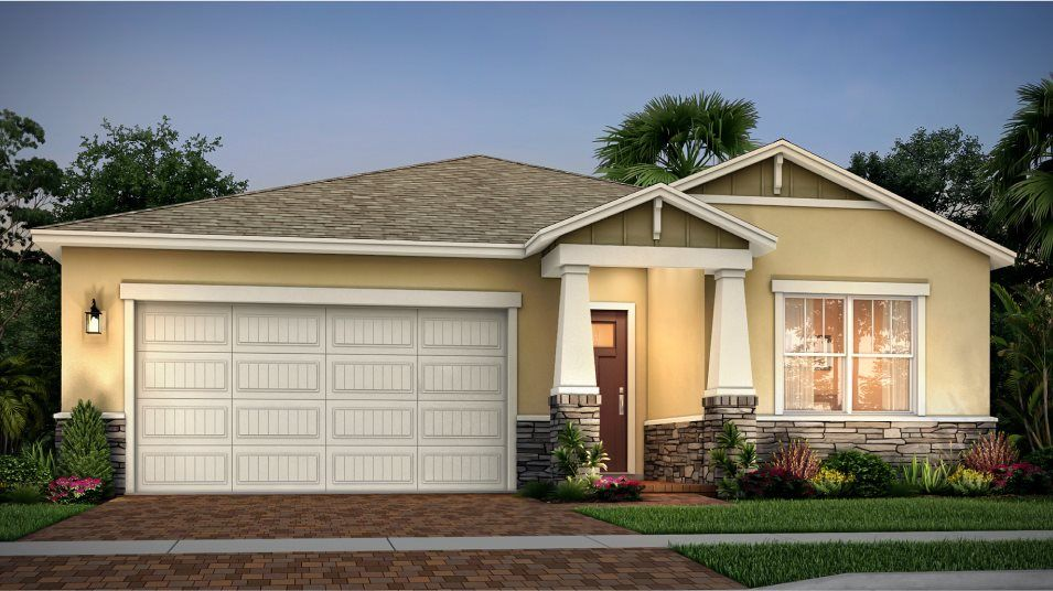 Exterior featured in the Key Largo By Lennar in Martin-St. Lucie-Okeechobee Counties, FL
