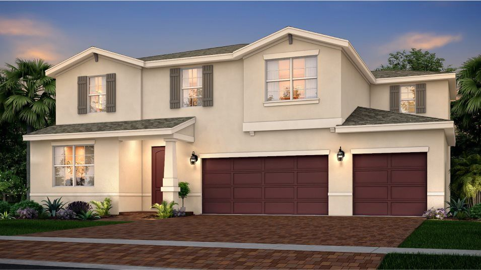 Exterior featured in the Helena By Lennar in Martin-St. Lucie-Okeechobee Counties, FL