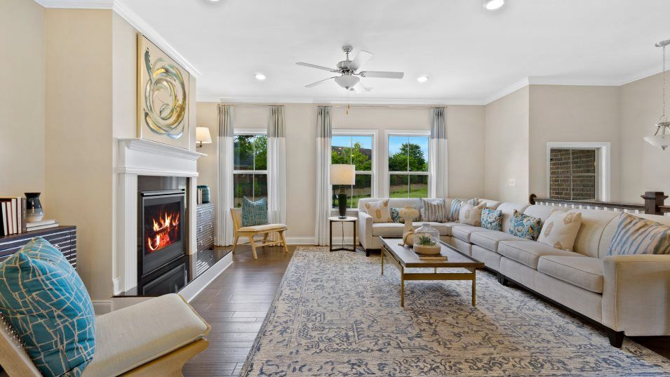 Living Area featured in the BENTLEY By Lennar in Atlanta, GA